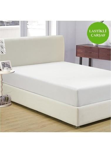 Komfort Home King Size Penye Lastikli Çarşaf 180x200 cm (Beyaz) Beyaz